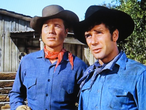 "John Smith, Robert Fuller in ""Laramie"""