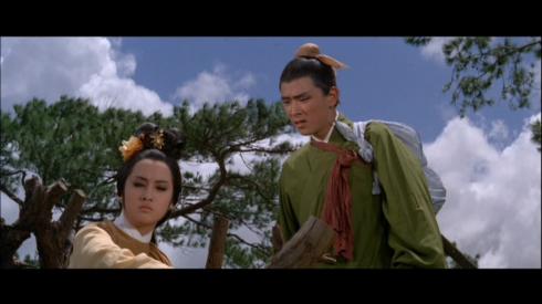 Chin Ping, Jimmy Wang Yu in TWIN SWORDS (1965)