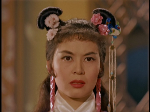 Lin Dai in DIAU CHARN (1958), Shaw's first color film