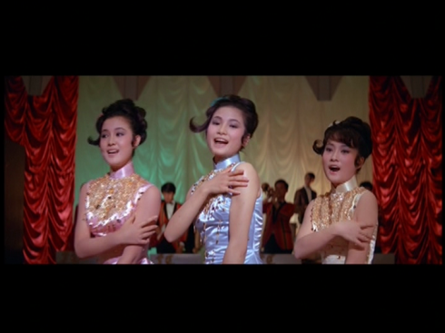 Lily Ho, Cheng Pei Pei and Chin Ping in HONG KONG NOCTURNE (1967)