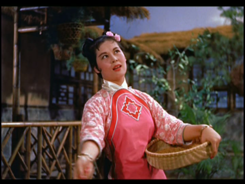Lin Dai in THE KINGDOM AND THE BEAUTY (1959)