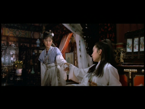 Sylvia Chang, Brigitte Lin in DREAM OF THE RED CHAMBER (1977)