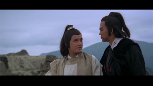 Fu Sheng with Ti Lung in THE AVENGING EAGLE (1978)