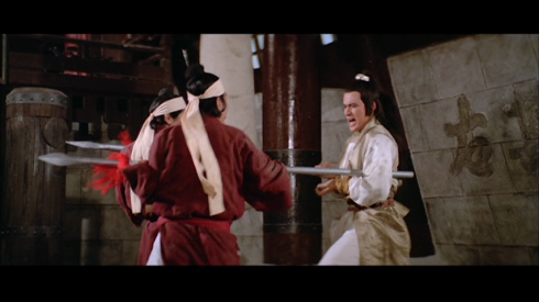 Fu Sheng in action in THE AVENGING EAGLE