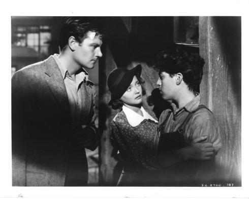 Joel McCrea, Sylvia Sidney, Billy Halop in DEAD END (1937)