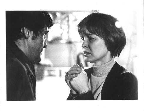 Jason Miller, Ellen Burstyn in THE EXORCIST (1973)