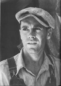 Henry Fonda as Tom Joad in THE GRAPES OF WRATH (1940)
