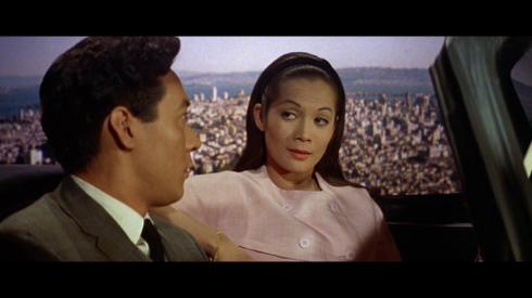 James Shigeta, Nancy Kwan in FLOWER DRUM SONG (1961)