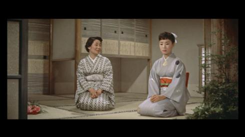 Hibari Misora, right