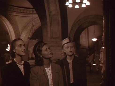 L-R: Nancy Davis, Nancy Olson, Anne Francis