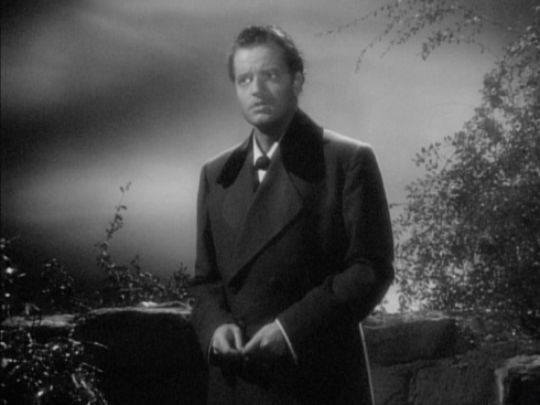 Welles as Edward Rochester in JANE EYRE (1944)