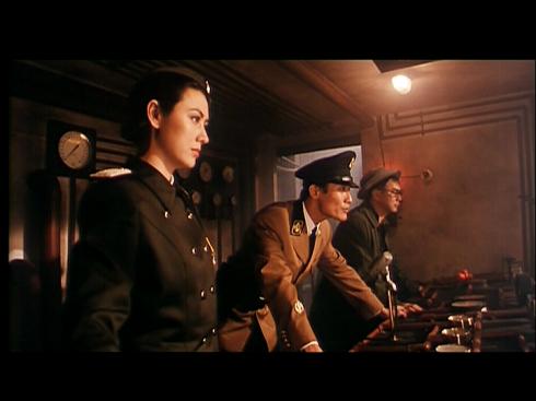 Joyce Godenzi, Tony Leung Ka Fai, Corey Yuen in THE RAID
