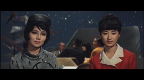 Kumi Mizuno as Miss Namikawa, Keiko Sawai as Haruni
