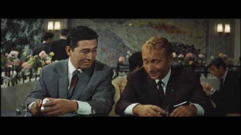 "Akira Takarada as Fuji: ""Japanese girl? Not the wrong kind, I hope."""