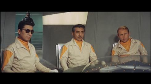 Akira Takarada, Jun Tazaki (as Dr. Sakurai), Nick Adams