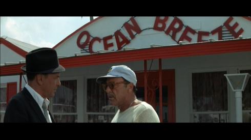 Director Gordon Douglas makes a cameo appearance in TONY ROME
