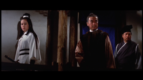 Shih Szu (left), Yang Chi-Ching (center) in THE BLACK TAVERN